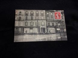 Asnières .Innondations De 1910.Les Sauveteurs De La Basse Seine . La Société Générale  . Voir 2 Scans . - Asnieres Sur Seine