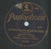 "78 Tours - TRIO DE CITHARE - PARLOPHONE 22403 "" IM PRATER BLUH'N WIEDER DIE BAUME "" + "" VIENNE, VILLE DE MES REVES "" - 78 Rpm - Gramophone Records"