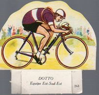 Image En Découpe LA VACHE SERIEUSE  N°263 Cyclisme: Dotto (PPP7855) - Vecchi Documenti