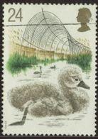 GB 1993 Yv. N°1646 - Les Cygnes - 24p Poussin - Oblitéré - Gebraucht