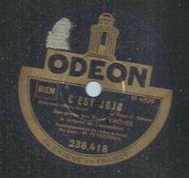 "78 Tours - EMILE VACHER - ODEON 238418 "" C'EST JOJO "" + "" ESPOIR PERDU "" - 78 Rpm - Gramophone Records"