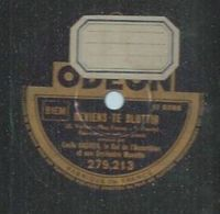 """78 Tours - EMILE VACHER - ODEON 279213 """" REVIENS TE BLOTTIR """" + """" L'ECLAIR """" - 78 Rpm - Gramophone Records"""