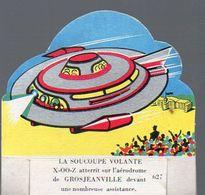 Image En Découpe LA VACHE SERIEUSE  N°627 Soucoupe Volante (PPP7849) - Other