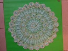 Napperon Rond Diametre 40cm Coloris Vert - Tablemates
