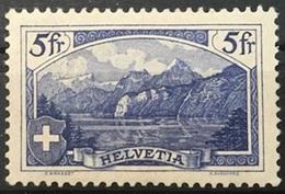 """Schweiz Suisse 1914: """"Rütli"""" (A.Burkhard) Zu 130 Mi 122 Yv 143 * MLH (Zu CHF 130.00 Für ** -50% Für *) - Schweiz"""