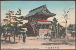 Gate Of Daishi Temple, Kawasaki, C.1905 - Postcard - Other