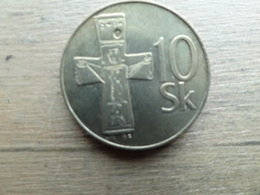 Slovaquie  10  Koruna  1995  Km 11 - Slovakia