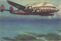 Carte Postale  TWA  .    SHANNON. - 1946-....: Modern Era