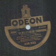 """78 Tours - LOUIS ZUCCA -  ODEON 238933  """" LE MULETIER DE TARRAGONE """" + """" LE VIEUX RUBAN """" - 78 Rpm - Gramophone Records"""