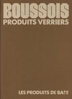 Livre, Couverture Toilée, Sur Les Produits Verriers BOUSSOIS De 1973 - Sciences & Technique