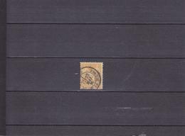 SAGE/TYPE II /25C BISTRE SUR JAUNE /OBLITéRé/  N° 92 YVERT ET TELLIER 1879 - 1876-1898 Sage (Type II)