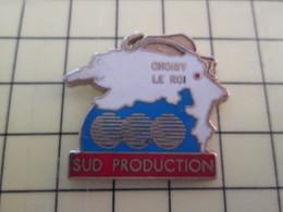 Pin1015c Pin's Pins / Rare Et De Belle Qualité  : MARQUES / SUD PRODUCTION CHOISY LE ROI - Marques