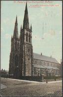 St Peter's Pro-Cathedral, Belfast, 1909 - Valentine's Postcard - Antrim / Belfast