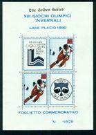 ERINNOFILI-OLIMPIADI INVERNALI LAKE PLACID 1980-NUOVO-SPORT - Cinderellas