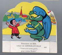 Image En Découpe LA VACHE SERIEUSE  N°641 Viens Avec Nous Pour Visiter Mars (PPP7882) - Other