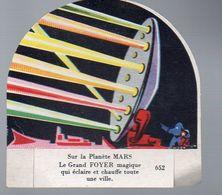 Image En Découpe LA VACHE SERIEUSE  N°652 Sur La Planète Mars (PPP7876) - Other