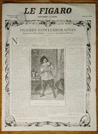 Le Figaro Janvier 1903 Figures Contemporaines Extraits De L'album Mariani (le Vin) Sem Cappiello Théodore Botrel Faivre - Advertising
