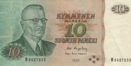 (B0601) FINLAND, 1980. 10 Markkaa. P-111. VF - Finland