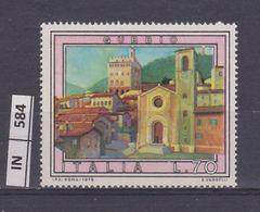 ITALIA REPUBBLICA, 1978Turismo Gubbio Nuovo - 6. 1946-.. Repubblica