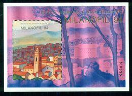 ERINNOFILI- MILANOFIL-BORSE E SALONI COLLEZIONISMO-FOGLIETTO IPZS--1994 - Cinderellas