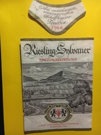 7968 - Riesling X Sylvaner 1966 Schaffhouse Suisse - Etiquettes
