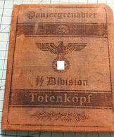 "WW2 German SS Panzergrenadier Division ""Totenkopf"" ID, Document Ausweis, Not Original (?) - 1939-45"