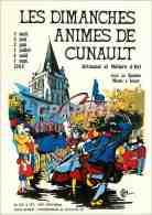 CPM Festivites De France Les Meilleurs Affiches Des Dimanches Animes De Cunault Festival Et Metiers - Saumur