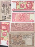 Lotto 14 BANCONOTE Varie (alcune Ripetute) - Banconote