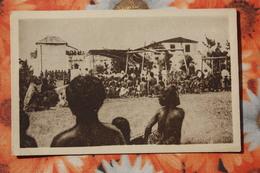 CAROLINAS Y MARIANAS Old Vintage Postcard - Celebrations -  Aborigens - Isole Marianne