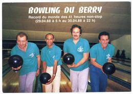 CPM SAINT DOULCHARD Bowling  (record Du Monde) Bourges - Autres Communes