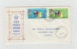 FDC 1961 - TRINIDAD & TOBAGO - Scoutisme - Brieven En Documenten