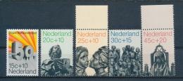 Nederland/Netherlands/Pays Bas/Niederlande 1971 Mi: 958-962 Nvph: 985-989 (PF/MNH/Neuf Sans Ch/**)(3422) - 1949-1980 (Juliana)