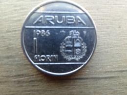 Aruba  1  Florin  1986  Km 5 - West Indies
