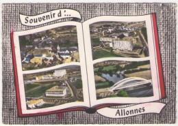 GF (72) 154, Allonnes, Lapie 115, Souvenir - Allonnes