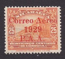 Nicaragua, Scott #C1, Used, National Palace Overprinted, Issued 1929 - Nicaragua