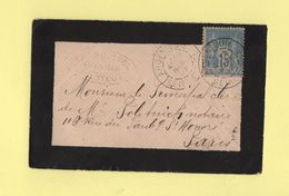 Argenteuil - Seine Et Oise - 1892 - 1877-1920: Période Semi Moderne