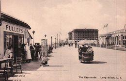 CPA   LONG BEACH The Esplanade Commerce FULLERS Animée - Long Beach