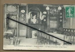 CPA-  Saint Etienne Du Rouvray - Maison Rohaut - La Salle Du Restaurant Du Parc Fleury - Saint Etienne Du Rouvray