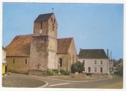 GF (72) 969, Etival Les Le Mans, Delourmel, L'Eglise Et La Rue Principale - France