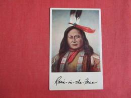Rain In The Face Sioux ---Ref  2883 - Indiani Dell'America Del Nord