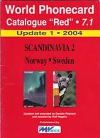"World Phonecard Catalogue ""Red"" - 7.1, Scandinavia 2, Update 1 - 2004 - Phonecards"