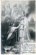 Religion LOT De 2 Cartes La France Malgré Les Sectes Impies Siège De Pierre Et Le Christ à L'Inventaire - Cristianesimo