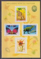 N° 31 Série Nature De France Faune Et Flore. Feuillet Neuf Impeccable - Blocs & Feuillets