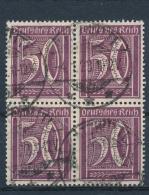 Duitse Rijk/German Empire/Empire Allemand/Deutsche Reich 1921 4 Block Mi: 183  (Gebr/used/obl/o)(3401) - Duitsland