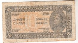 1595  SLOVENIJA      10  DINARA  1944 - Slovénie