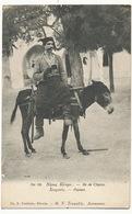 Cyprus Chypre  No 80 Paysan Sur Son Ane Peasant On Donkey Edit Toufexis Nicosia - Cyprus