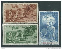 Réunion PA N° 7 / 9  XX P.E.I.Q.I. Les 3 Valeurs Sans Charnière, TB - Neufs