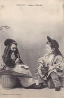 CPA Pontivy - Après Le Marché -Enfants En Costume Traditionnel Breton (33651) - Pontivy
