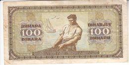 1596  SLOVENIJA   --EX-YU     100  DINARA  1946 - Slovenia