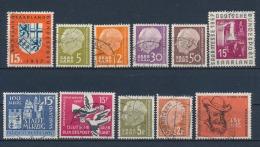 Duitsland/Germany/Allemagne/Deutschland Saarland 1957-58 Mi: 379430 (Gebr/used/obl/o)(3172) - 1957-59 Bondsland